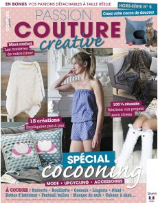 Hors-série n° 5 spécial Cocooning - Passion Couture créative