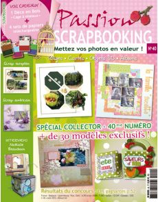 Passion Scrapbooking n°40