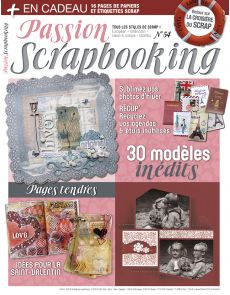 Passion Scrapbooking n°54