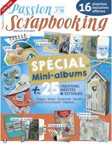 Scrapbooking spécial Mini-albums : 25 créations pour les vacances - Hors-série n°16