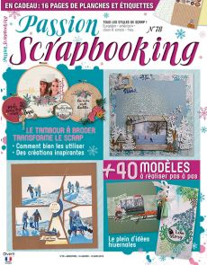 Passion Scrapbooking 78 - En cadeau vos planches de papiers et d'étiquettes