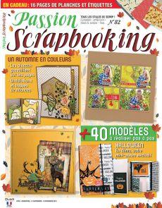 Passion Scrapbooking 82 - Un automne en couleurs