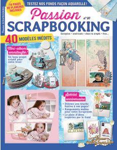 Passion Scrapbooking 90 - Vos idées et modèles à réaliser