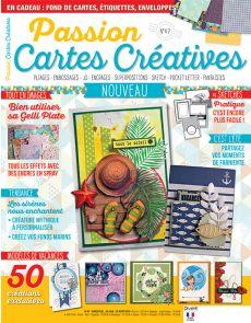 Passion Cartes Créatives 47 - Vos modèles de vacances : c'est l'été !