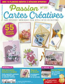 Passion Cartes Créatives 59 - 55 modèles exclusifs