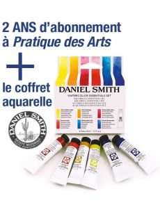 EXCLU WEB : Abonnement PDA + le coffret aquarelle DANIEL SMITH