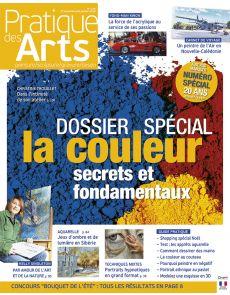 Pratique des Arts n°125 - Dossier spécial couleur, secrets et fondamentaux