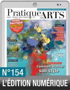 TÉLÉCHARGEMENT : Pratique des Arts 154 en version numérique