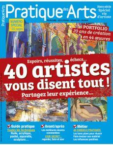 Pratique des Arts Spécial VIE D'ARTISTE - Partagez l'expérience de 40 artistes
