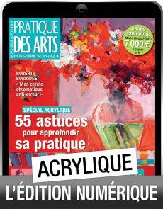 TELECHARGEMENT : Pratique des arts hors-série acrylique n°49