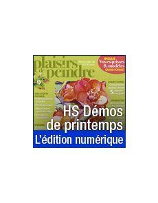 Téléchargement du Hors-série n°20 - Démos de Printemps (Aquarelle, Pastel, Acrylique, Huile, Pastel, Gouache)