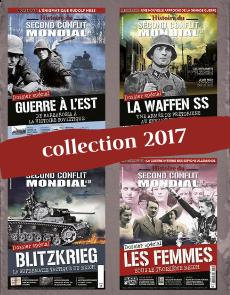 Collection 2017 - Histoire du Second Conflit Mondial - 4 numéros Collector