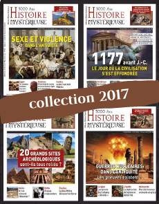Collection 2017 - 5000 ans d'Histoire Mystérieuse - 4 numéros Collector