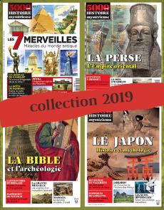 Collection 2019 - 5000 ans d'Histoire Mystérieuse - 4 numéros Collector