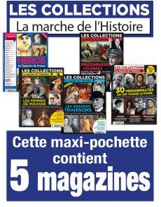Collection 2019 - Les collections de La Marche de l'Histoire - 5 numéros