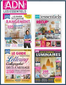 Spécial LES ESSENTIELS du DIY - Collection de 4 magazines - Volume 1
