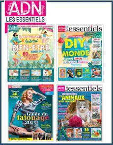 Spécial LES ESSENTIELS du DIY - Collection de 4 magazines - Volume 2