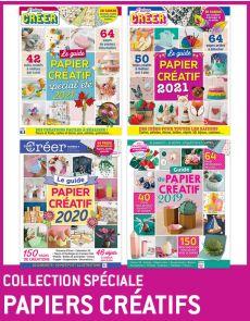 Collection PAPIERS CRÉATIFS - 4 ouvrages DIY pour créer