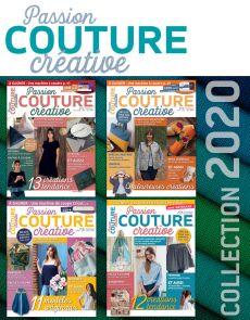 Collection 2020 complète - Passion COUTURE Créative : 4 numéros collectors