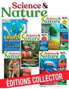 Collection complète - SCIENCE ET NATURE : 5 numéros collectors