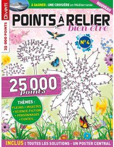 POINTS À RELIER Bien-être 4 - Thèmes fleurs, insectes, science-fiction, personnages, contes...