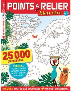 Points à Relier Bien-être 12 - Thèmes plage, Afrique, bateaux, chiens, montagne, jouets