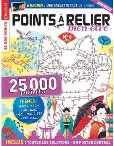 POINTS À RELIER Bien-être 6 - Thèmes : jeux, Japon, animaux, gourmandises