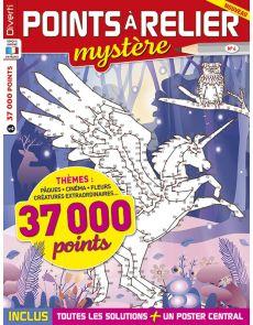 Points à Relier Mystère 4 - Thèmes cinéma, fleurs, pâques, créatures…