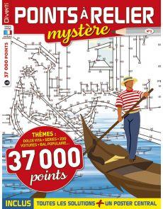 Points à Relier Mystère 5 - Thèmes plage, Zoo, fruits, séries, voitures…