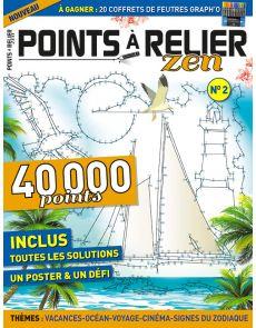 Points à Relier Zen 2 - Thèmes Vacances, Océan, Voyage, Cinéma, Signes du zodiaque