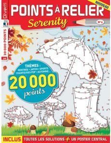 Points à relier Serenity 6 - Avec 70 dessins à relier !