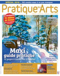 Pratique des Arts 144 - Avec un maxi Guide Pratique