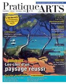 Pratique des Arts 158 - Les clés d'un paysage réussi