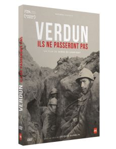 Verdun Ils ne passeront pas - Serge de Sampigny - DVD