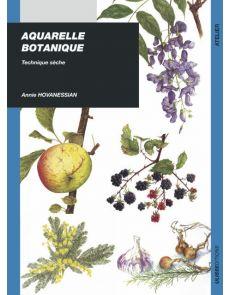 Aquarelle botanique - Technique sèche