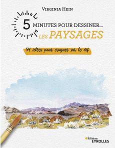 5 minutes pour dessiner les paysages - Virginia Hein
