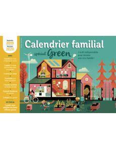 Calendrier familial spécial Green