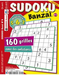 Sudoku Banzaï 04 - Niveaux 5-6-7