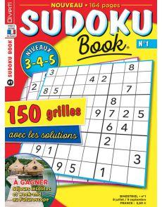 SUDOKU Book numéro 1 - Niveaux 3-4-5