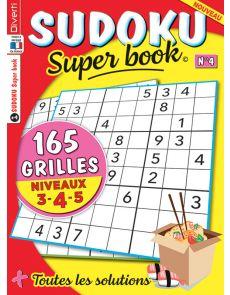 SUDOKU Super book 4 - Niveaux 3-4-5