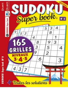 SUDOKU Super book 03 - Niveaux 3-4-5