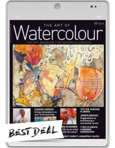 1 year Subscription - DIGITAL Edition - The Art of Watercolour magazine