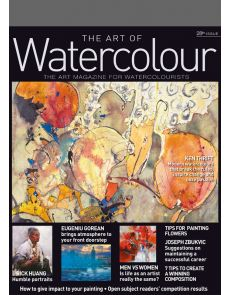 1 year Subscription - PRINT Edition - The Art of Watercolour magazine