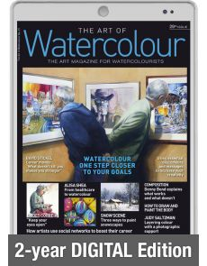Digital Edition 2-year renewal Subscription - The Art of Watercolour magazine