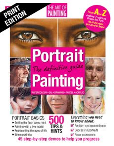 Portrait Painting - The definitive Guide: Drawing, Watercolour, Oil, Pastel, Acrylic