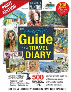 Guide to the TRAVEL DIARY- The Art of Painting Collection, tips and advices