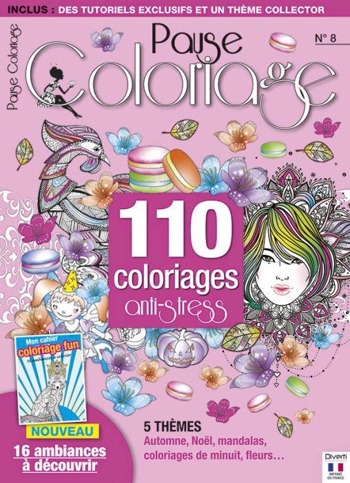 Pause Coloriage N 8 Mon Cahier Coloriage Fun 16 Ambiances A Colorier