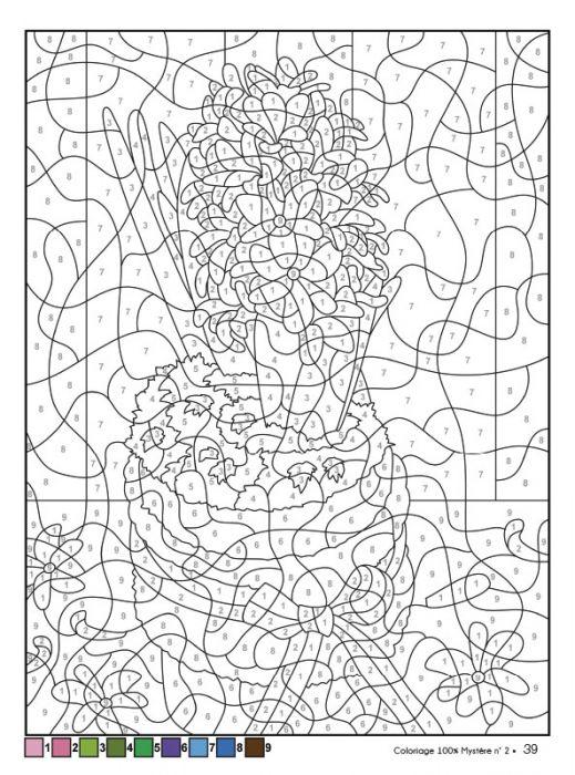 Coloriage 100 Mystère 2 Spécial Automne